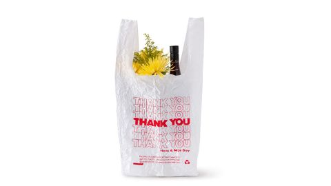 Embroidered Thank-You Tote
