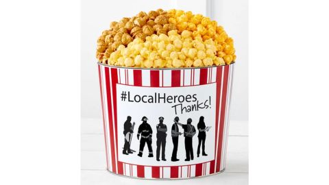 The Popcorn Factory Tins with Pop Local Heroes Thank You