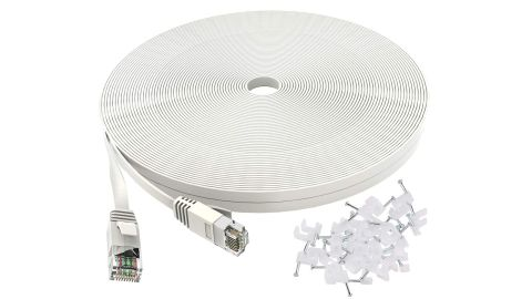 Cat 6 Ethernet Cable 50 ft White
