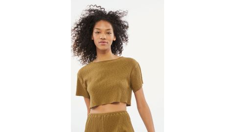 Out From Under Clara Cropped Top