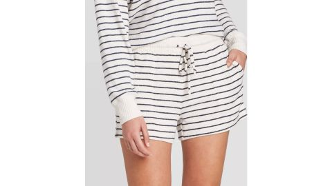 Women's Striped Perfectly Cozy Lounge Pajama Shorts, Stars Above