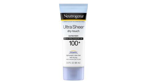 Neutrogena Ultra Sheer Dry-Touch Sunscreen SPF 100