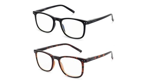 Blue-Light-Blocking Glasses, 2-Pack
