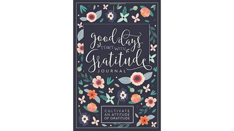 """Good Days Start With Gratitude"" journal"