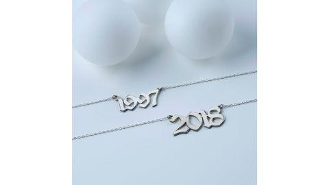 Custom Year Necklace