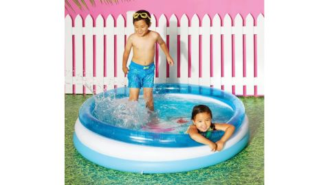 Pool Time Shark Kiddie Pool