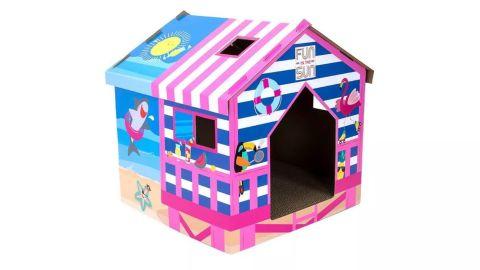 Beach Cat Scratcher House