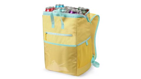 Wide Mouth Backpack Cooler Yellow