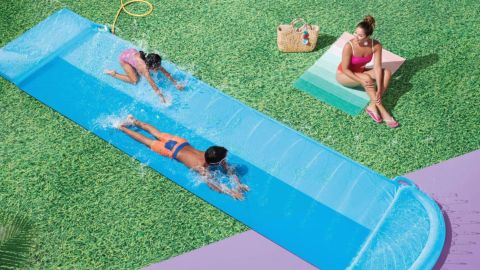 Sun Squad's Double Water Slide