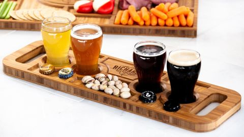 Personalized Charcuterie Planks and Beer Flights