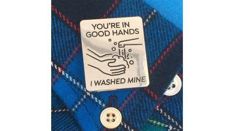 You're In Good Hands Handwashing Pin