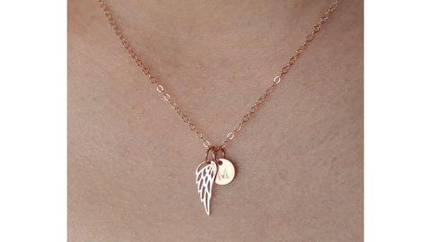 Memorial Angel Wing Necklace