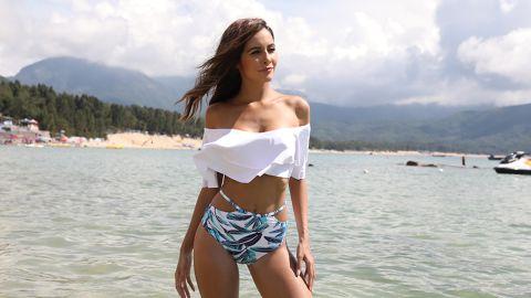 Tempt Me Women High-Waisted Bikini Set