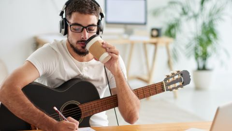 You'll learn how to read music for guitar and even how to pick up on what's going on musically, just by listening.