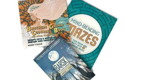 Coloring And Classics Subscription Box