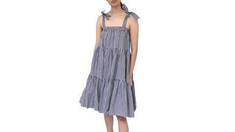 Batsheva Amy Convertible Tiered Dress/Skirt