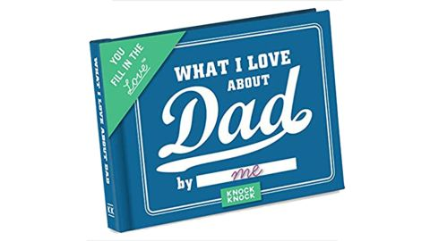What I Love about Dad Fill-in-the-Blank Gift Journal