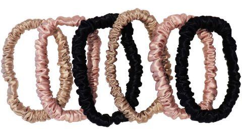 Slip Silk Skinnies Scrunchie Set