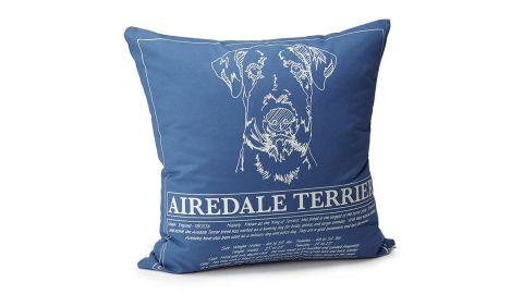 Dog Blueprint Pillow