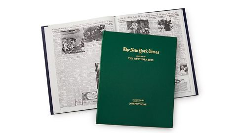The New York Times Custom Football Book