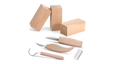 Knife Whittling Woodworking Set