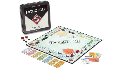 Vintage Monopoly Gameboard
