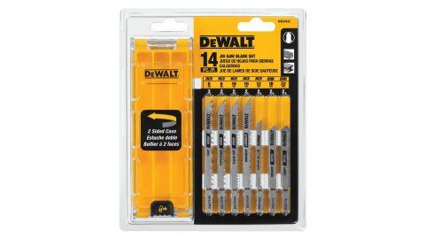 Dewalt Jigsaw Blades Set with Case, T-Shank, 14-Piece