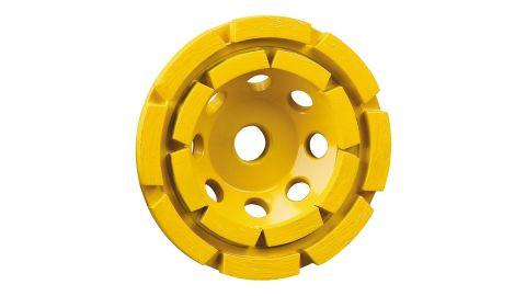 Dewalt Grinding Wheel, Double Row, Diamond Cup, 4-1/2-Inch