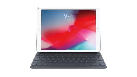 7th-generation iPad with Smart Keyboard