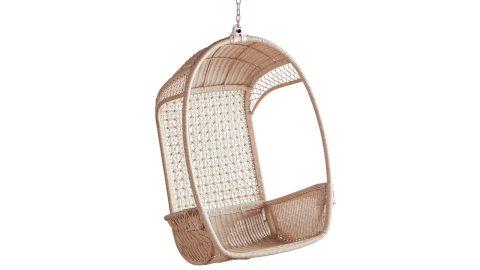 Luna Star Parchment Hanging Chair