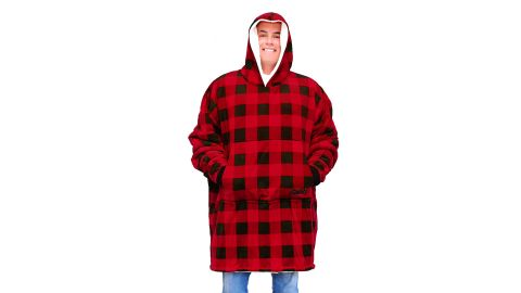 The Comfy Original Oversized Microfiber & Sherpa Wearable Blanket
