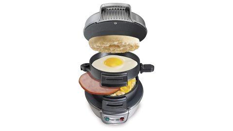 Hamilton Beach Breakfast Sandwich Maker, Silver