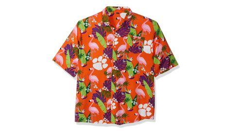 NCAA Floral Button-Up Shirt