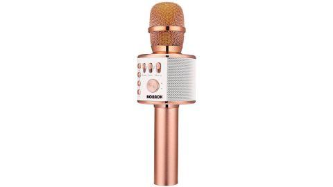 Bonak Wireless Bluetooth Karaoke Microphone