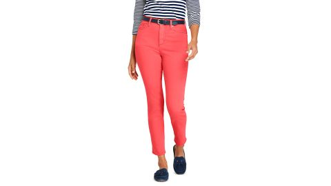 Women's High Rise Slim Straight-Leg Ankle Jeans