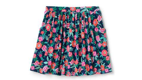Girls Pattern Skort