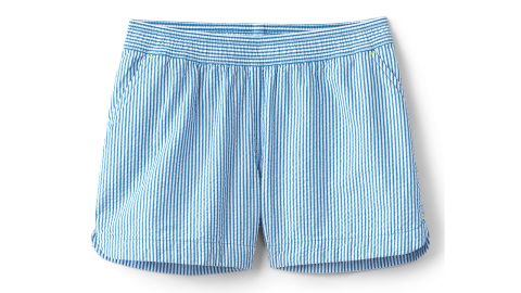 Girls Seersucker Pull On Shorts