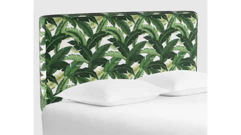 Cost Plus World Market Swaying Palm Loran Upholstered Headboard