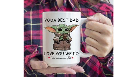 Baby Yoda Best Dad mug