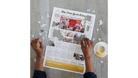'New York Times' Front Page Puzzle