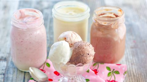 Gemma Stafford's mason jar ice cream