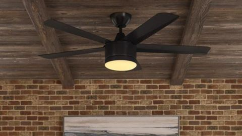 Merwry 52 in. Integrated LED Indoor Ceiling Fan