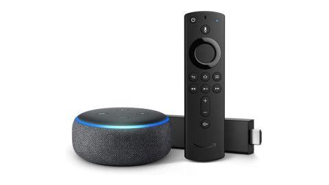 Fire TV Stick 4K Bundle with Echo Dot