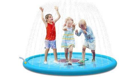 "Jasonwell Sprinkle & Splash Play Mat 68"" Sprinkler"