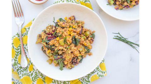 Any-Veggie Fried Rice by Caroline Chambers