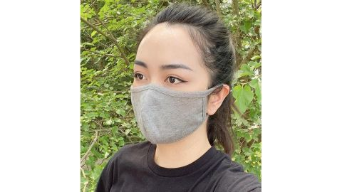 PassionWearShop Set of 3 Cotton-Poly Solid Color Masks