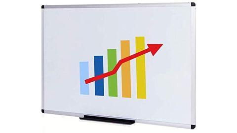 Viz-Pro Magnetic Whiteboard/Dry Erase Board