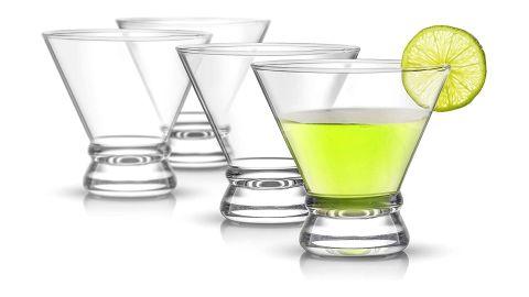 4-Piece Afina Cocktail Glasses Set, Martini Glasses