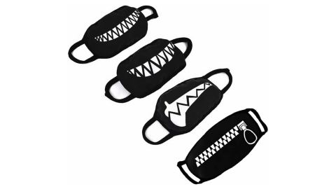 Gootrades Teeth Pattern Face Mask, 4-Pack