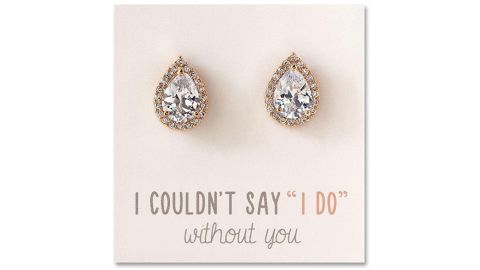 A+O Wedding Bridesmaid Jewelry Gift